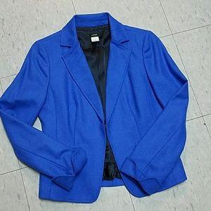 J. Crew Wool Herringbone Ecole Blazer Jacket